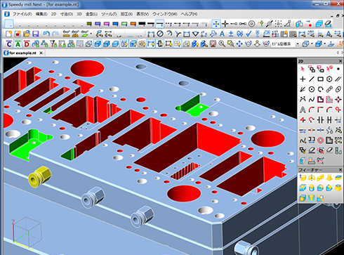 3D CADによる設計